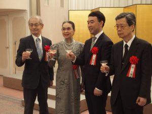 中日文化賞受賞式