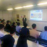 韓国人留学生がキャリアパートナーズに見学に来ました。
