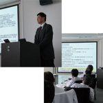 某メーカー企業様向けに化学物質管理に関する出張講習会を開催しました。