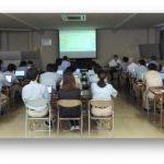 化学品メーカー様向けに製品含有化学物質管理の講習会を実施致しました。