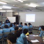 大手農業機器メーカー様向けに第1回「安全講習会」を実施致しました。